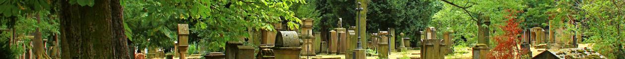 Der Hoppenlau-Friedhof. Die Gräber der Dichter